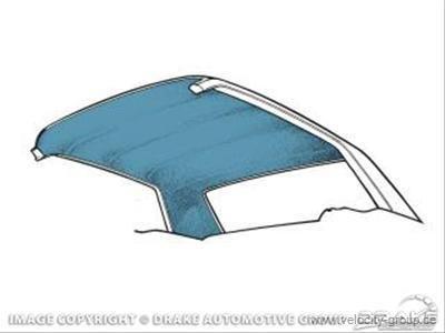 68 9 Camaro Headliner Med Blue Hl Gc 68 Mb