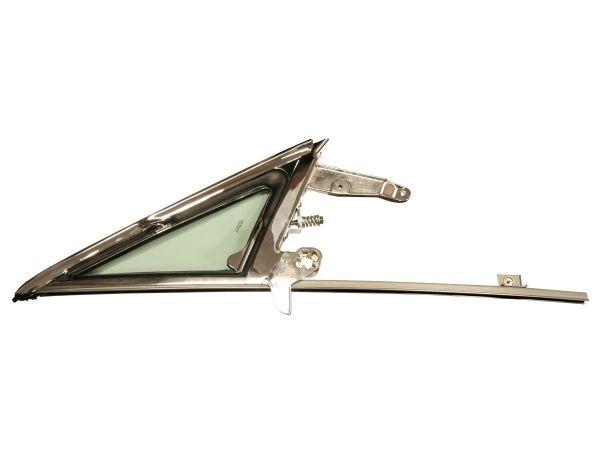 65-66 Ford Mustang Dreiecksfenster komplett - Rechts - Grün getönt