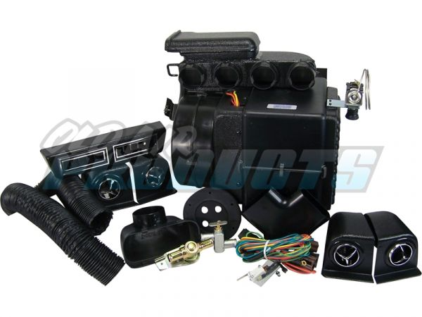 69-70 Ford Mustang Klimaanlagennachrüstung - Innenraumpaket - ohne elektronische Steuerung