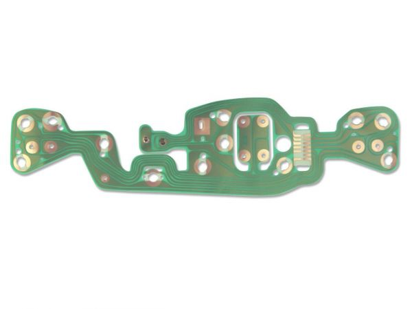 69-70 ford mustang instrument panel circuit board - w/o tachometer  c9zz-10k843-a  velocity-group
