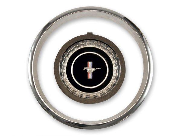 1967 Emblem und Zierring für Hupknopf