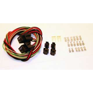 64-73 ford mustang headlight wiring harness - relay kit  velocity group