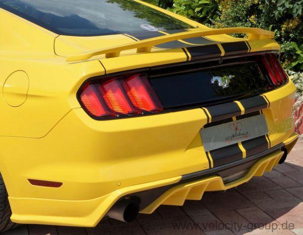 15-20 Ford Mustang Cabrio Spoiler - Abbes - Heckspoiler - Mit TÜV