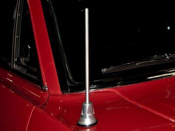 64-68 Ford Mustang Antennenstab - Aluminium