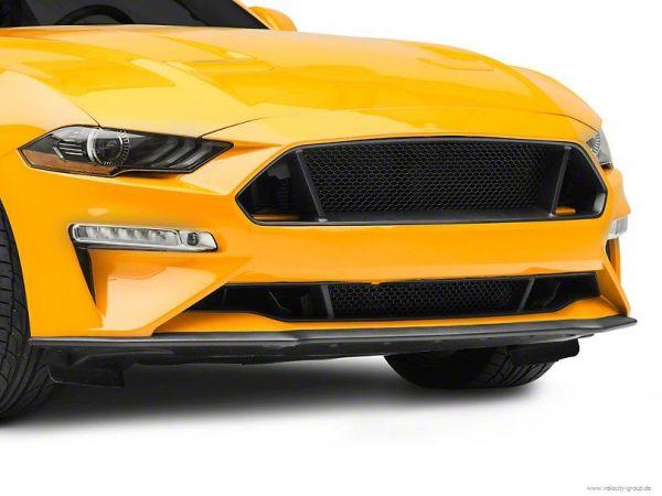 18-20 Ford Mustang Kühlergrill - Oben - Wabenmuster - Offen - Schwarz ohne Emblem