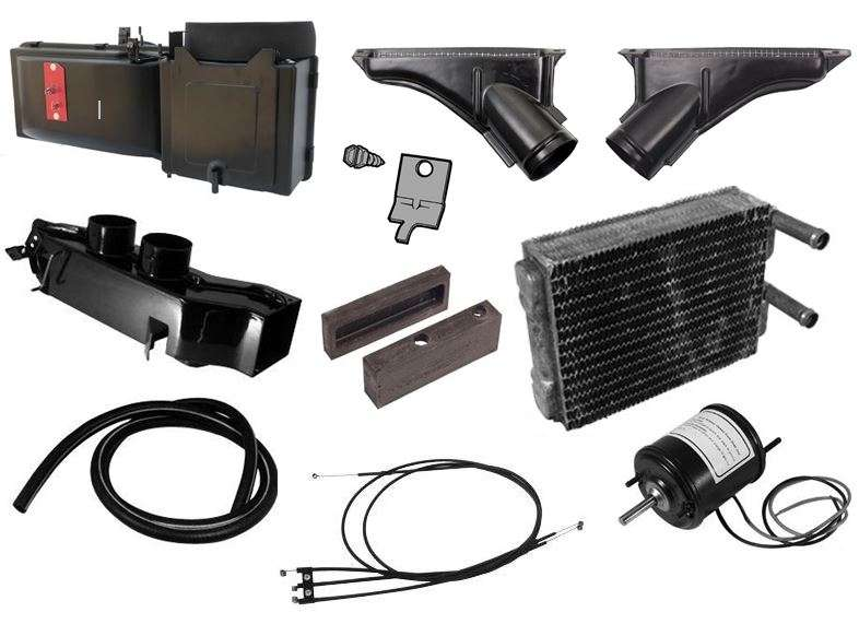 67-68 Ford Mustang HVAC Heater Core Kit