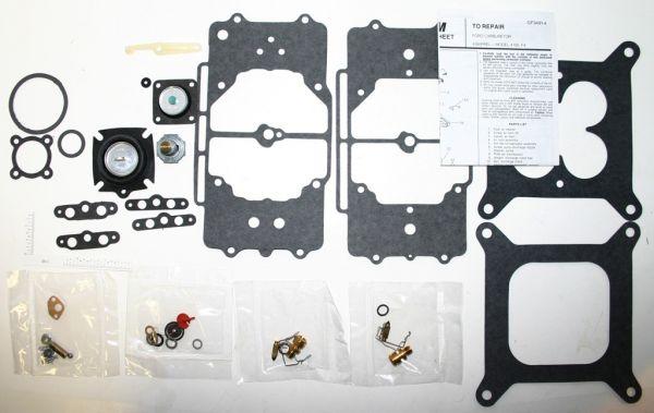 64-69 Ford Mustang Vergaserüberholsatz - für Autolite 4100