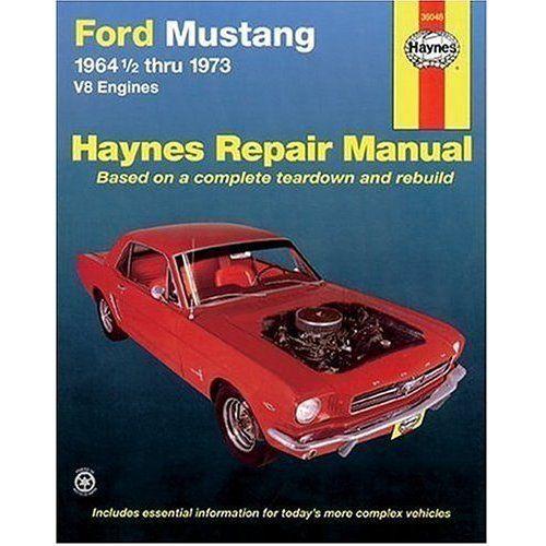 64-73 Ford Mustang Reparaturhandbuch - Haynes