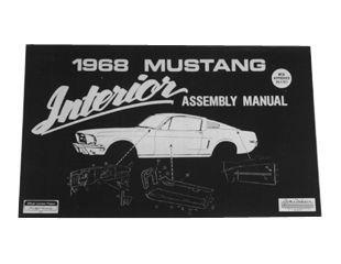 1968 Ford Mustang Technisches Handbuch - Innenraum