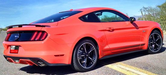 15-21 Ford Mustang Coupe  Heckspoiler - GT / California Special-Style - Fiberglas
