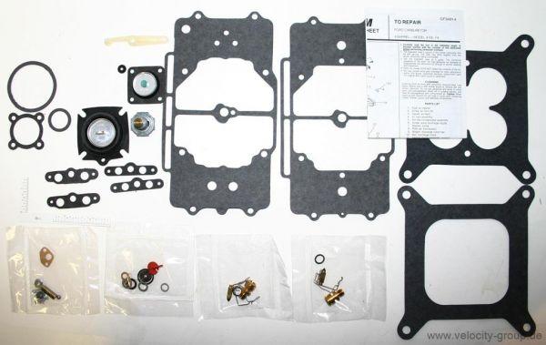 58-69 Ford/Mercury/Edsel Vergaserüberholsatz