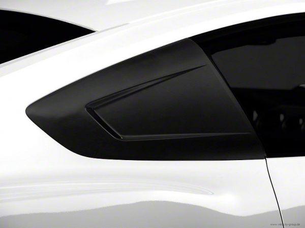 15-20 Ford Mustang Coupe Aufsatz für Scheibe - Hinten Links und Rechts - Unlackiert