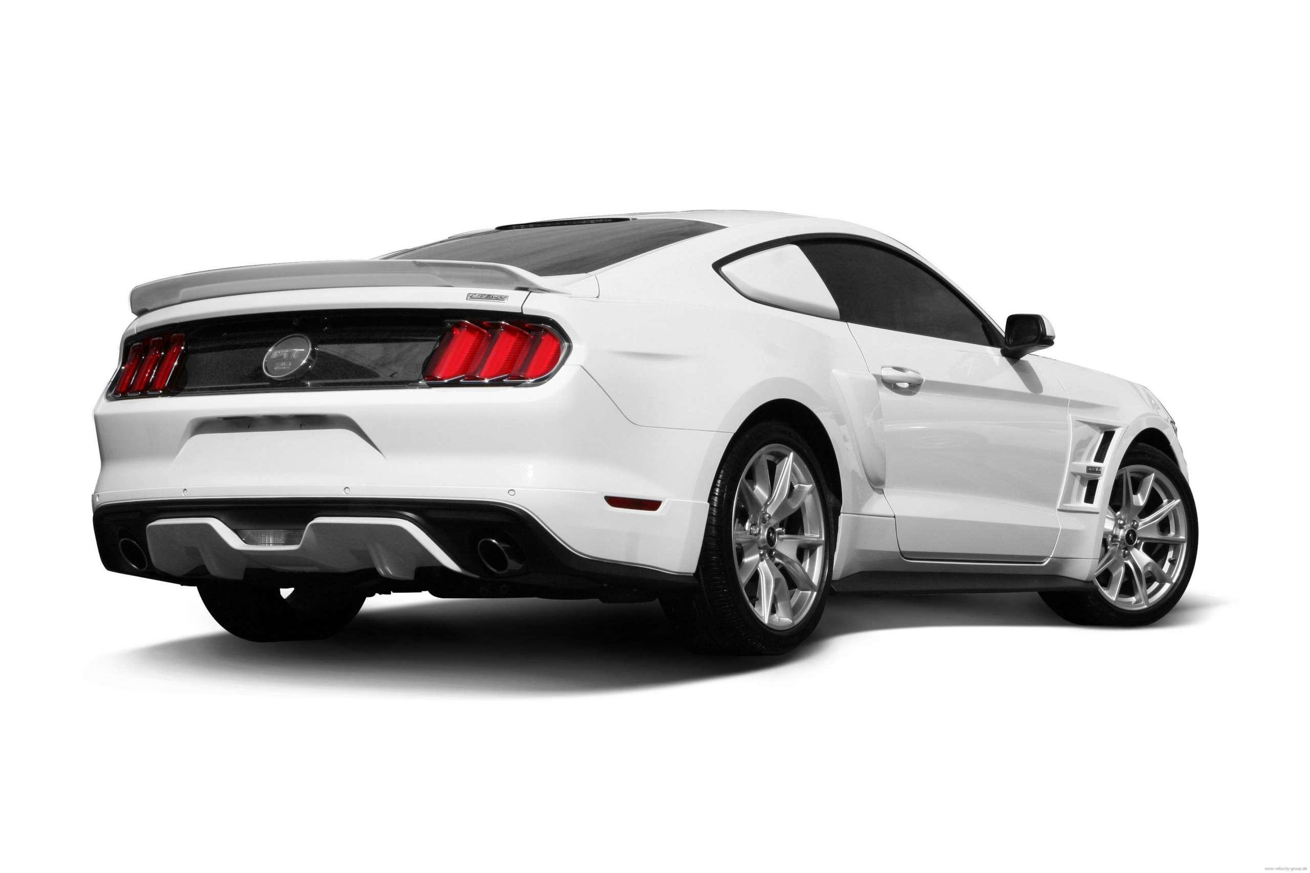 15 19 Ford Mustang Coupe Spoiler Hinten Unlackiert