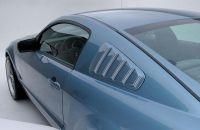05-09 Ford Mustang Aufsatz für Scheibe - Hinten Links und Rechts - Unlackiert