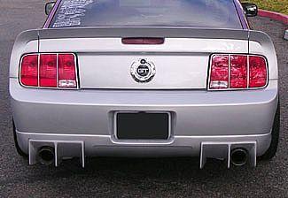 05-09 Ford Mustang GT Stoßstangenansatz - Hinten