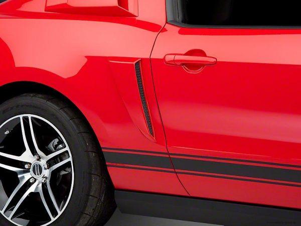 10-14 Ford Mustang Lufteinlass an Seitenwand hinten - kleine Ausführung