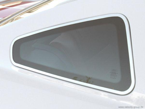 05-09 Ford Mustang Zierleiste hintere Seitenscheibe