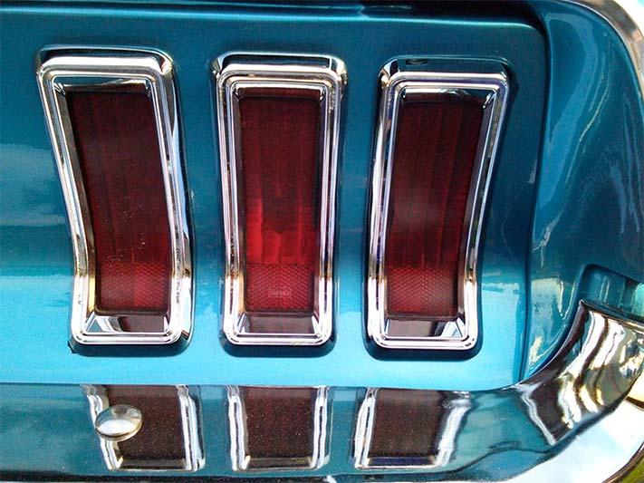 1967 Ford Mustang Rückleuchten