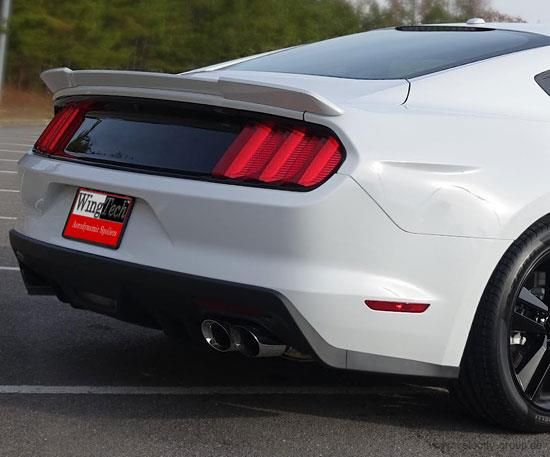15-20 Ford Mustang Coupe Spoiler - Racing Style