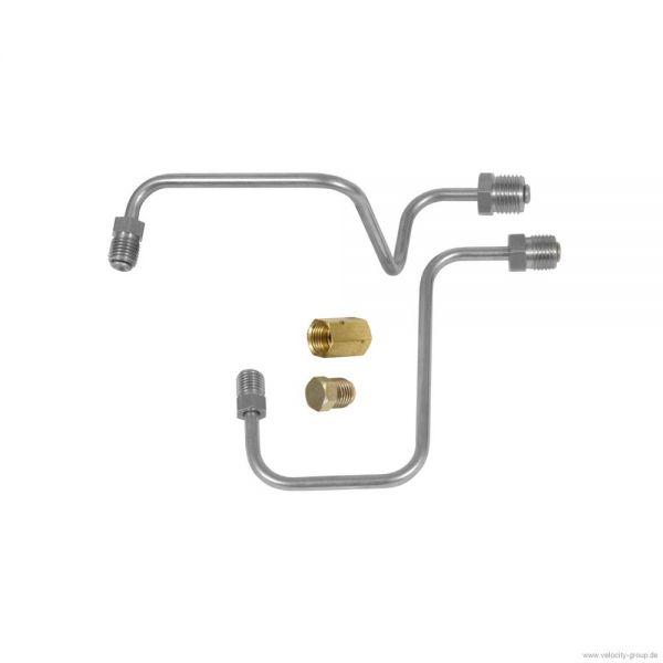 65-66 Umbaukit auf 2-Kreis Bremssystem Trommel - Edelstahl