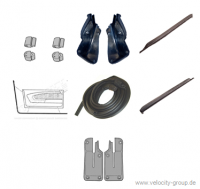 71-73 Ford Mustang Cabrio Türdichtungs Set