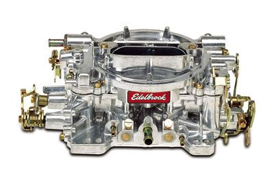 Vergaser - Edelbrock Performer - 600 cfm - Aluminium - Manueller Choke - Poliert