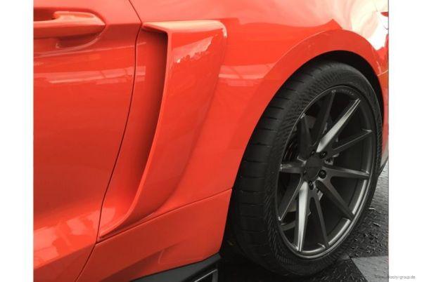 15-19 Ford Mustang Lufteinlass an Seitenwand hinten - Links und Rechts