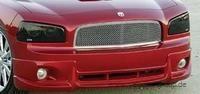Dodge Charger schwarze Abdeckungen für Scheinwerfer