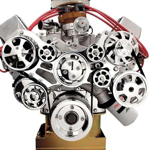 (429) Serpentine Belt Drive Conversion Kit - 429/460 Engine