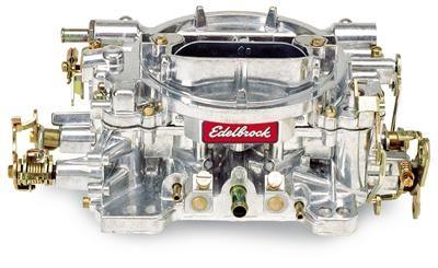 (289/302) Vergaser - Edelbrock Performer - 500 cfm - Aluminium - Manueller Choke - Poliert