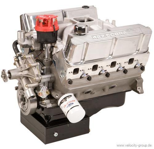 351W-427 Aluminium Motor - Sumpf vorne