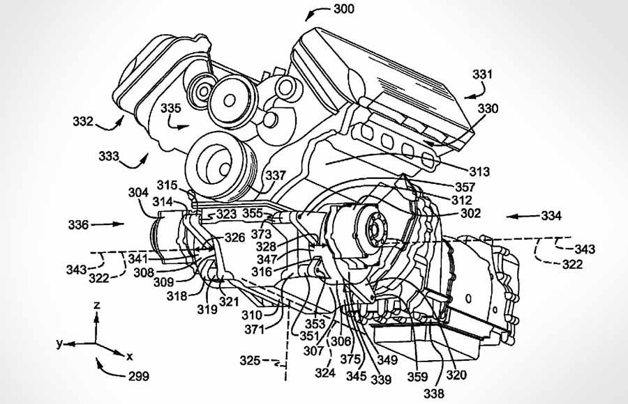 Ford Mustang V8-Hybrid Konzept?