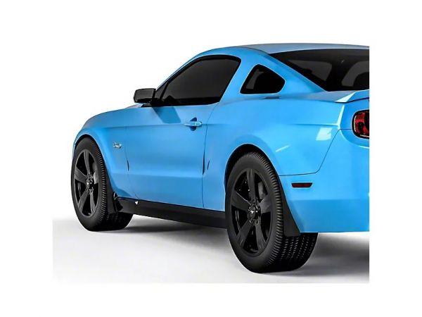 10-14 Ford Mustang Spritzschutz - Vorne und hinten