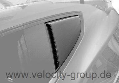 15-19 Ford Mustang Coupe Aufsatz für Scheibe - Schwarz