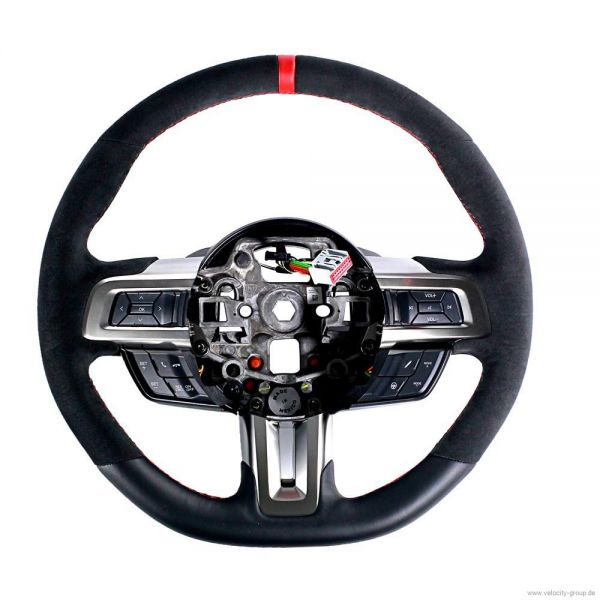 18-20 Ford Mustang Lenkrad - Orig. GT350R Leder/Alcantara