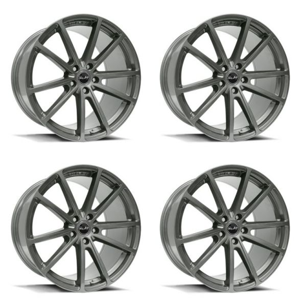 15-21 Ford Mustang Felgensatz - Shelby CS10 - Aluminium - 9,5x20 und 11x20 Zoll - Gunmetal