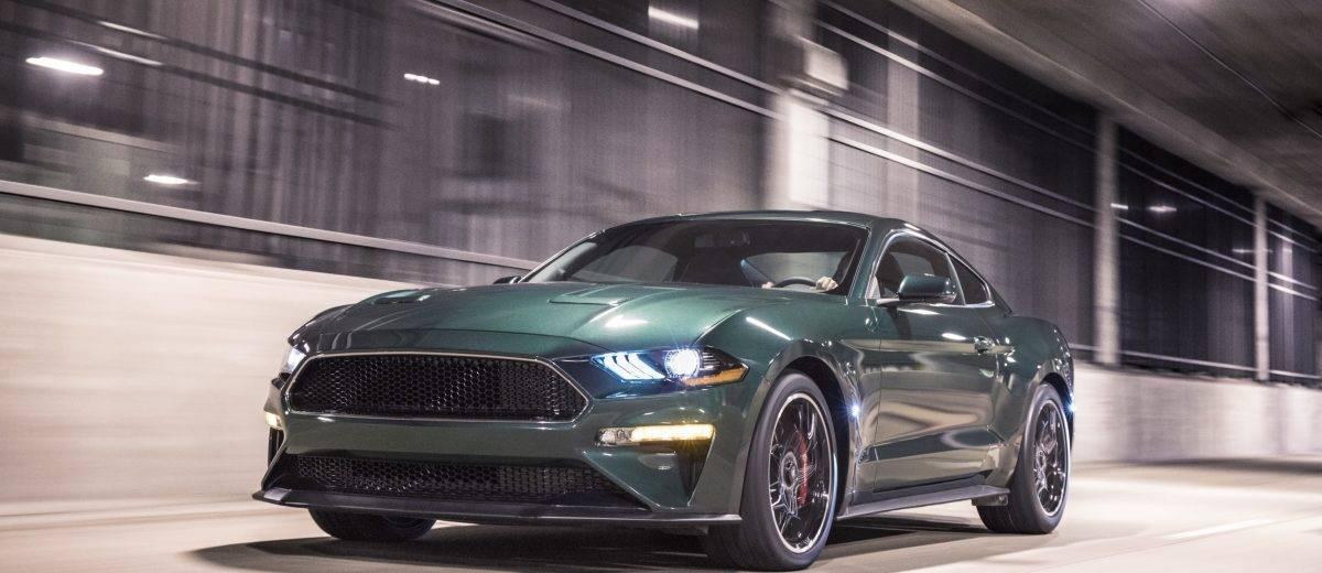 Der Bullitt Kehrt Zum Modelljahr 2019 Zuruck Velocity Us Car Parts