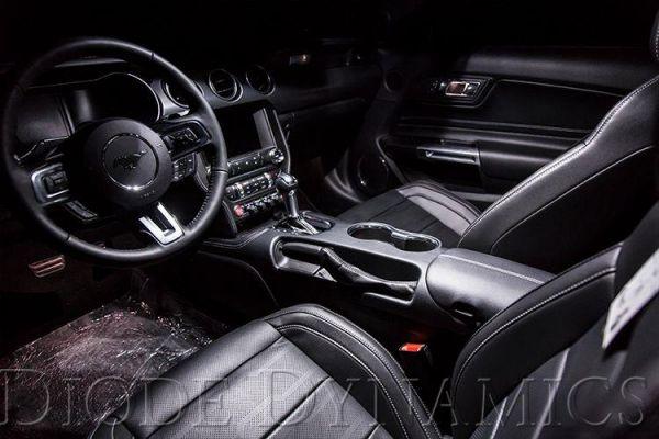 18-20 Ford Mustang Innenraum LED - Cool White 8er Set