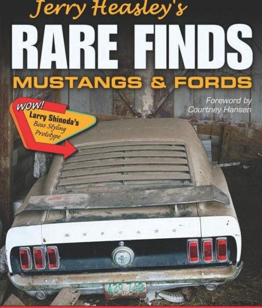 64-73 Ford Mustang Buch für Fans - ''''Rare Finds - Mustangs and Fords''''