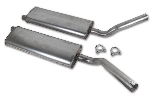 56-62 Chevrolet Corvette  Mittelschalldämpfer Set