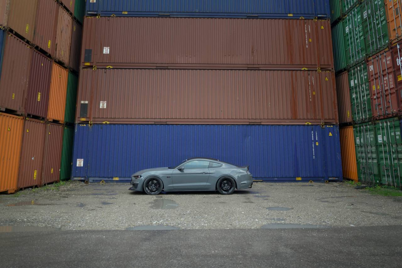 Ford Mustang 2018 grau Shelby CS14 schwarz