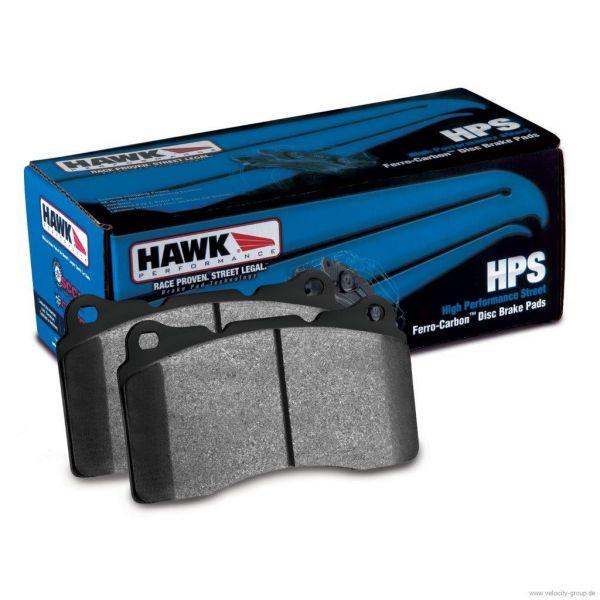 05-15 Dodge/Chevrolet/Ford/Pontiac/... Bremsbelagsatz Scheibenbremse - HAWK - HPS - Vorne
