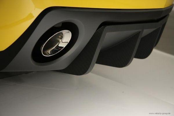 10-13 Chevrolet Camaro Stoßstangenansatz - Hinten unten