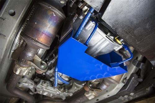 15-19 Ford Mustang Ölkühler für Schaltgetriebe - Luftleitblech