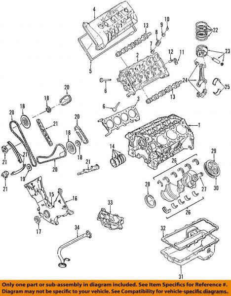 05-14 Ford Mustang Ventilschaftdichtung
