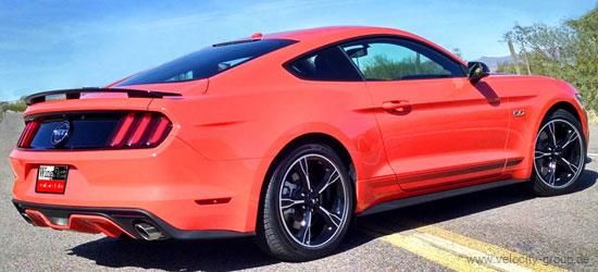 15-20 Ford Mustang Coupe Spoiler - GT/California Special-Style