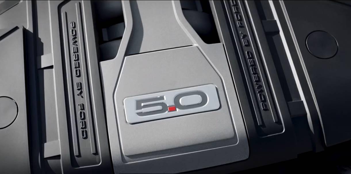 Ford Mustang Motorraum