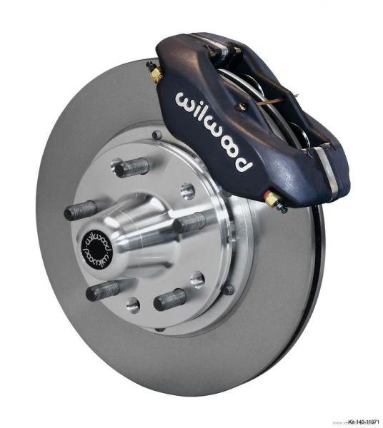 63-70 Ford/Mercury Komplettset Bremssättel, -scheiben und -beläge - Vorderachse