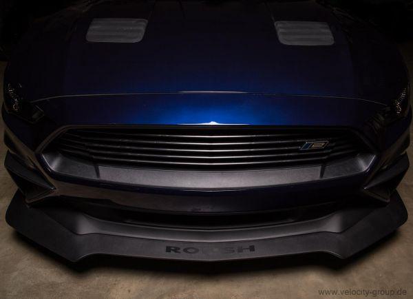 18-19 Ford Mustang  ROUSH Spoilerschwert - Vorne