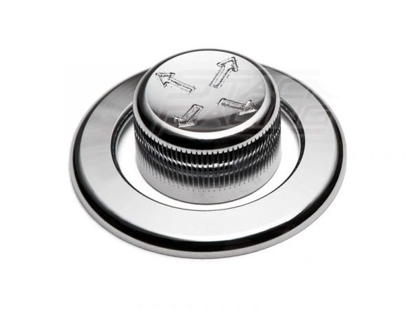 05-09 Knopf und Ring für Spiegelverstellung - Chrom